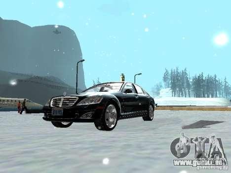 Mercedes-Benz S600 pour GTA San Andreas vue de droite