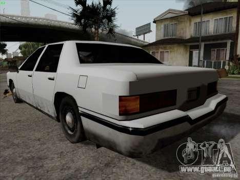 New Elegant für GTA San Andreas linke Ansicht