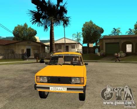 VAZ 2104 pour GTA San Andreas vue arrière