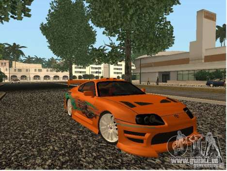 Toyota Supra pour GTA San Andreas