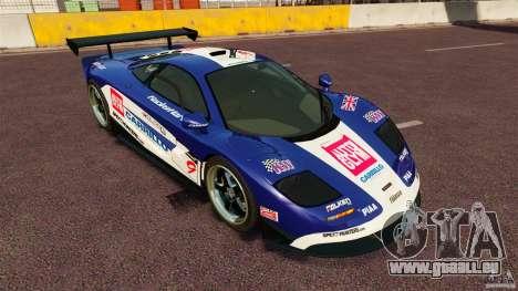 McLaren F1 für GTA 4 rechte Ansicht