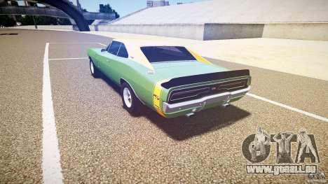 Dodge Charger RT 1969 tun v1.1 für GTA 4 Seitenansicht