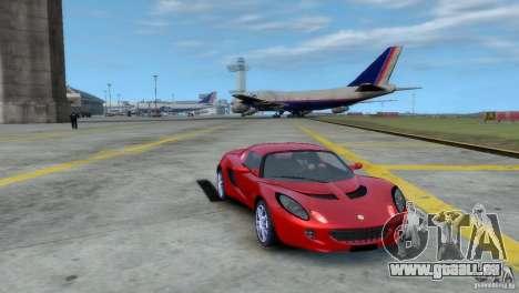 Lotus Elise pour GTA 4 Vue arrière de la gauche
