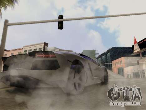 Lamborghini Aventador LP700-4 Vossen für GTA San Andreas Seitenansicht