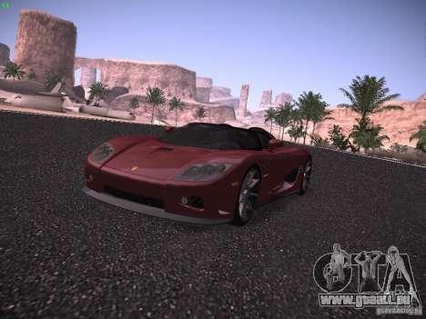 Koenigsegg CCX 2006 für GTA San Andreas linke Ansicht