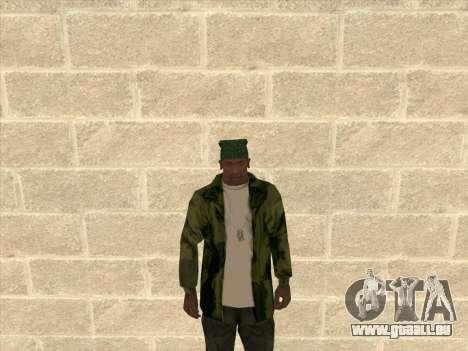 Veste camouflage pour GTA San Andreas