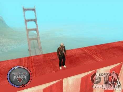 GTA 5 HUD für GTA San Andreas fünften Screenshot