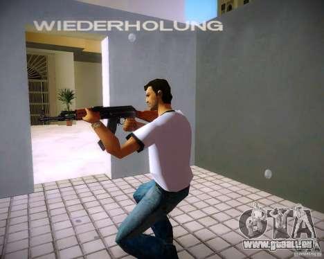 AK-47 GTA Vice City pour la troisième écran