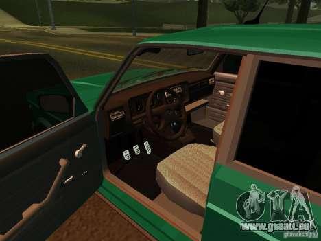 VAZ 21047 pour GTA San Andreas vue arrière