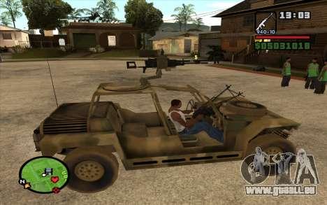 LE PKK pour GTA San Andreas quatrième écran