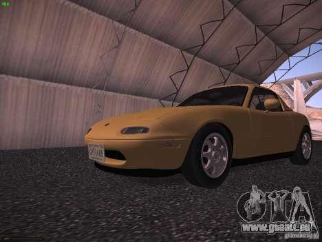 Mazda MX-5 1997 pour GTA San Andreas laissé vue
