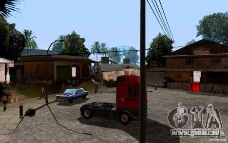 Mercedes-Benz Actros Lukoil pour GTA San Andreas vue de droite