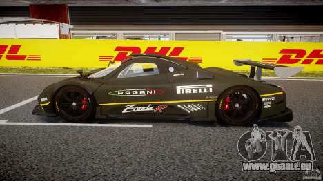 Pagani Zonda R 2009 pour GTA 4 est une gauche