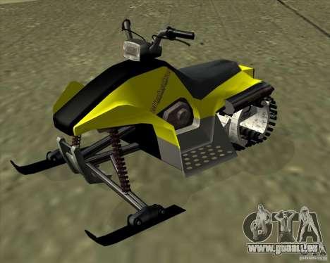 Snowmobile pour GTA San Andreas