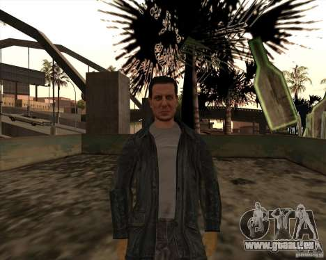 Rainures blanches pour GTA San Andreas troisième écran