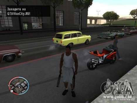 SUPER BIKE MOD pour GTA San Andreas