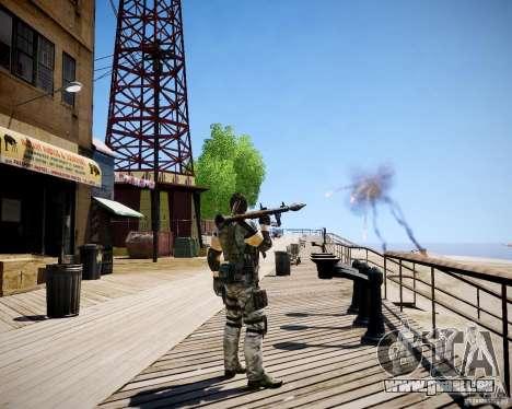 Chris from Resident Evil 5 für GTA 4 sechsten Screenshot