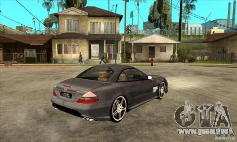 Mercedes-Benz SL65 AMG 2010 für GTA San Andreas rechten Ansicht