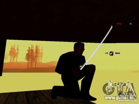 Ice Weapon Pack für GTA San Andreas fünften Screenshot