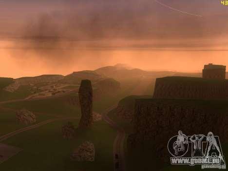 Without the desert für GTA San Andreas siebten Screenshot