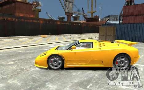 Bugatti EB110 Super Sport für GTA 4 linke Ansicht