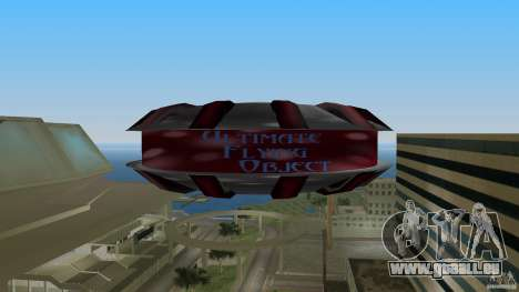 Ultimate Flying Object für GTA Vice City rechten Ansicht