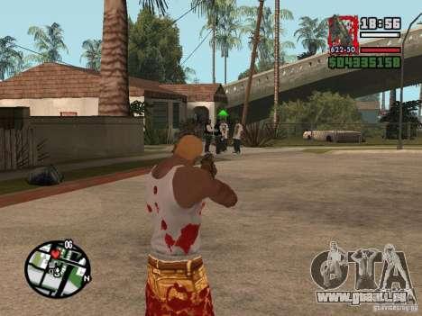BulletStorm M4 pour GTA San Andreas troisième écran