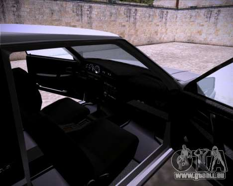 Lada Samara 2113 pour GTA San Andreas vue arrière