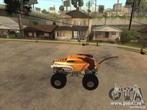 Monster Mutt pour GTA San Andreas laissé vue