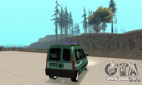 Renault Kangoo Straz Graniczna pour GTA San Andreas laissé vue