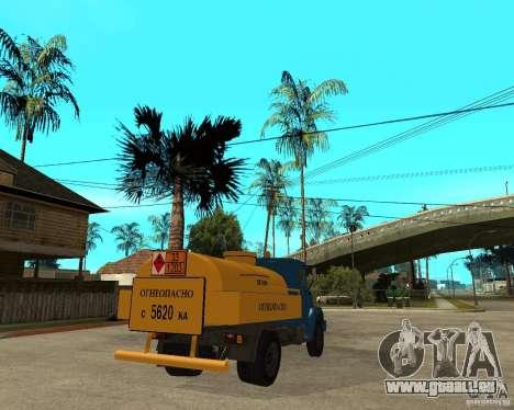 ZIL-433362 Extra Pack 2 pour GTA San Andreas vue intérieure
