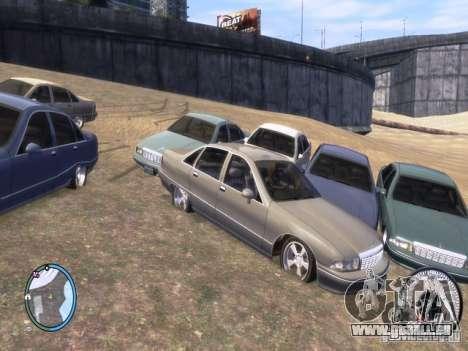 Chevrolet Caprice pour GTA 4 Vue arrière de la gauche