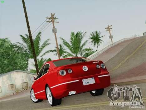 Volkswagen Magotan 2011 pour GTA San Andreas laissé vue