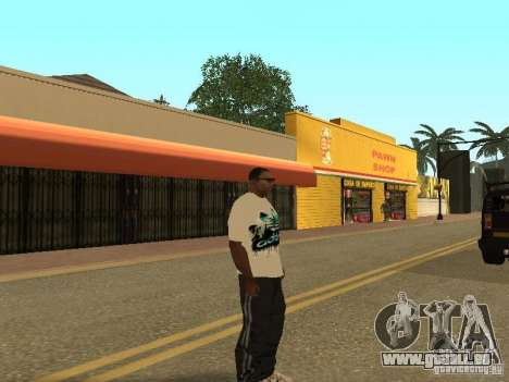 Maillot Adidas pour GTA San Andreas quatrième écran