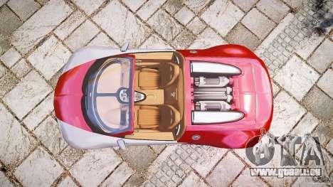 Bugatti Veyron Grand Sport [EPM] 2009 pour GTA 4 Vue arrière de la gauche