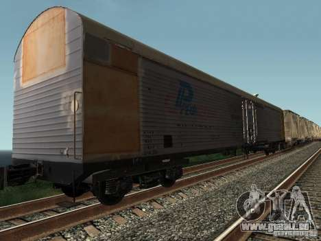 Refrežiratornyj wagon Dessau no 9 pour GTA San Andreas
