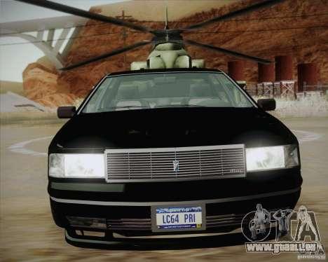 GTA IV Primo pour GTA San Andreas sur la vue arrière gauche