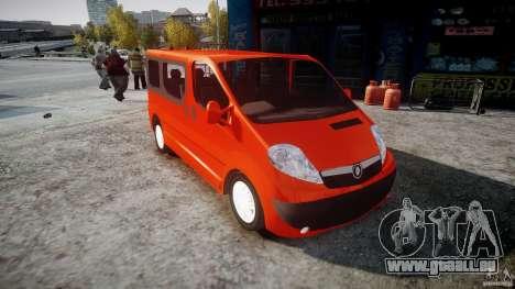 Renault Trafic für GTA 4 rechte Ansicht