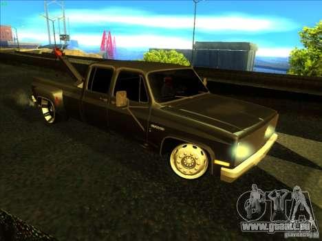 Chevrolet Silverado Towtruck für GTA San Andreas