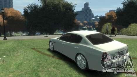 Maserati Quattroporte pour GTA 4 est une gauche