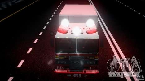 LCFD Hazmat Truck v1.3 für GTA 4 Unteransicht