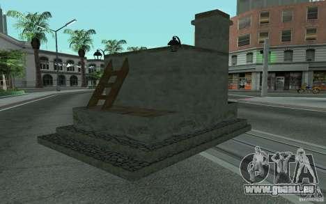 Poêle pour GTA San Andreas laissé vue