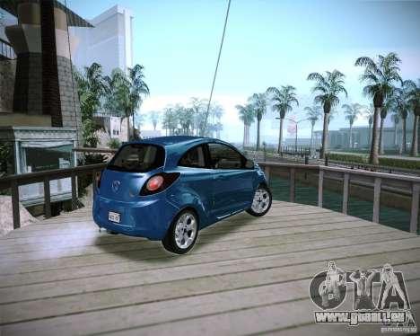Ford Ka 2011 pour GTA San Andreas laissé vue