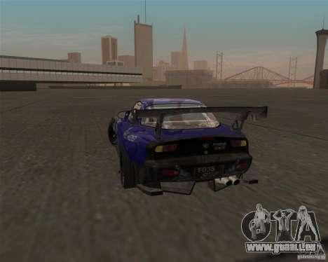 Mazda RX-7 FD3S special type pour GTA San Andreas sur la vue arrière gauche