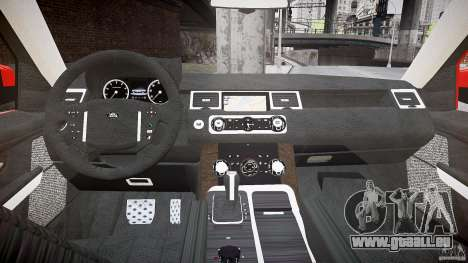 Range Rover Sport pour GTA 4 Vue arrière