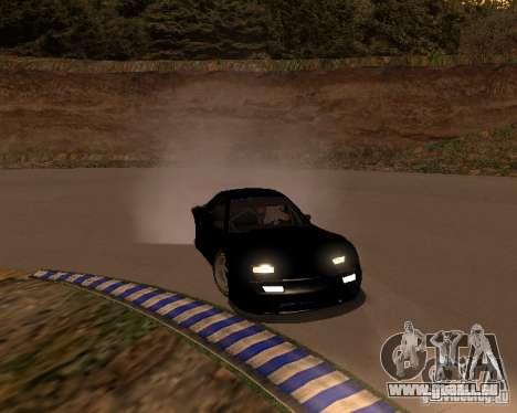 Mazda RX-7 FC - MadMike: Version.2 für GTA San Andreas Rückansicht