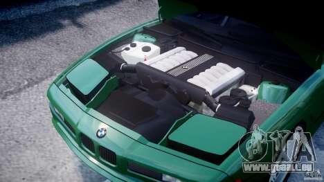 BMW 850i E31 1989-1994 für GTA 4 Innenansicht