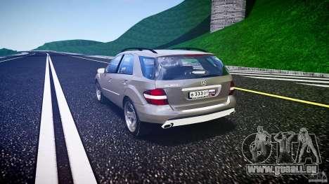 Mercedes-Benz ML 500 v1.0 pour GTA 4 Vue arrière de la gauche