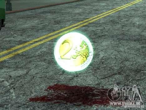 Pièces en euro pour GTA San Andreas