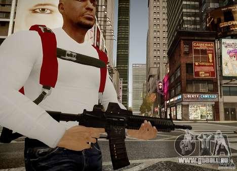 Das HK416 (automatisch) für GTA 4 Sekunden Bildschirm